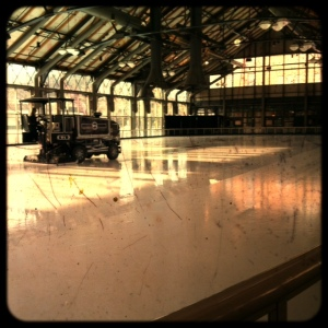 view of the ice