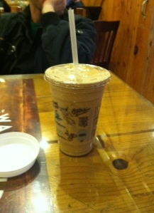Caramel Cooler at Caribou