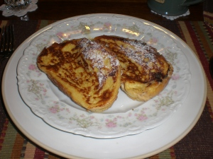 Day 2: ricotta stuffed french toast