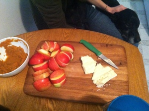 apples and brie