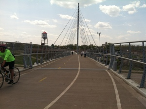 Hiawatha Bridge and Greenway
