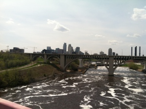 view from UofMN bridge