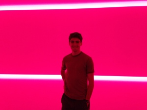 photo from one of the rooms included in the 'Light Spaces' exhibit