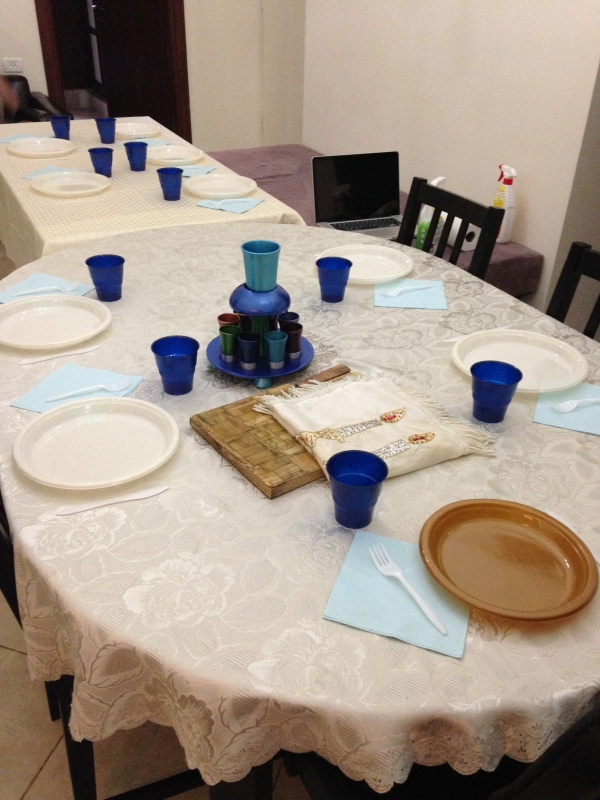 the Shabbat table!